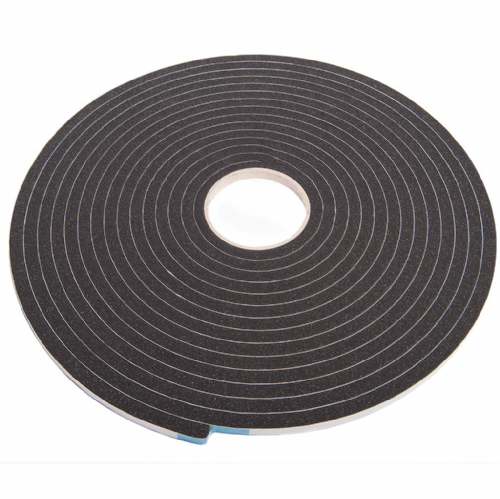 2521 Black Single Sided Foam Tape